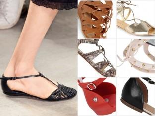 Sandały na wiosnę 2015