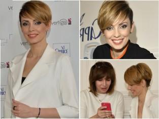 Dorota Gardias blond włosy