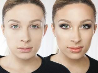 Makijaż optycznie wyszczuplający twarz krok po kroku