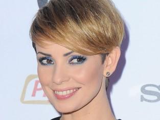 Dorota Gardias w platynowym blondzie