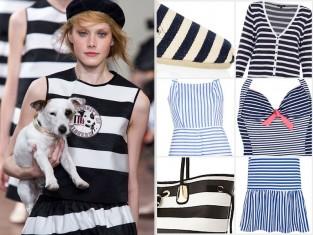 Ubrania w marynarskim stylu