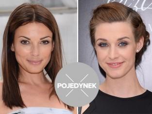 Katarzyna Glinka i Julia Kamińska pojedynek