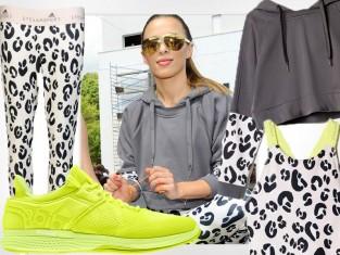 Ewa Chodakowska w kolekcji Stelli McCartney dla adidas