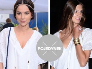 Kamila Szczawińska w białej sukience Just Paul
