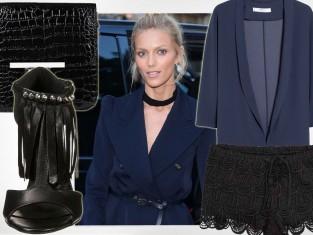 Anja Rubik na imprezie Vogue
