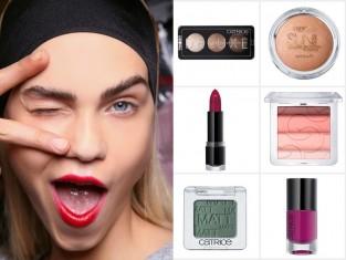 Makijaż jesień 2015 - Catrice kosmetyki na jesień