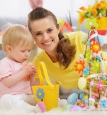 Wielkanocne dekoracje - pomysły do zrobienia z dzieckiem