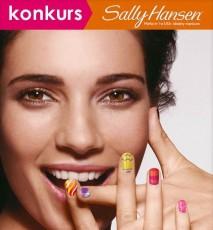 manicure sally hansen konkurs, konkurs sally hansen, konkurs internetowy
