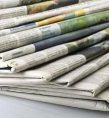 co zrobić ze starymi gazetami, nietypowe zastosowanie gazet