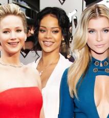 Jennifer Lawrence, Rihanna, Joanna Krupa