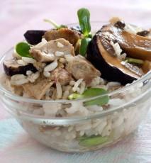 risotto z grzybami przepis, przepis na risotto z grzybami