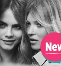 My Burberry - Kate Moss i Cara Delevingne w kampanii