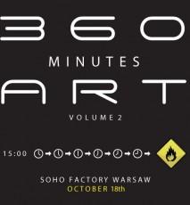 Projekt 360 Minutes Art w Soho Factory w Warszawie