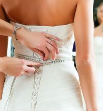 Suknia ślubna szyta u krawcowej