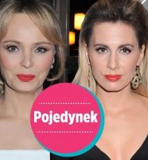 Agnieszka Popielewicz i Agnieszka Jastrzębska makijaż
