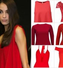Czerwone sukienki walentynki 2016