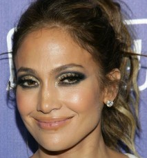Jennifer Lopez bez makijażu