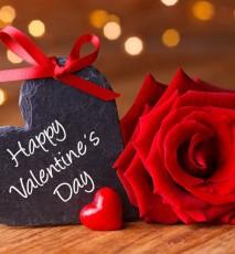 walentynki, serce, róża, 14 lutego