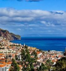 krajobraz, miasto, morze