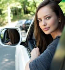 Kobieta - zawodowy kierowca