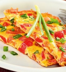 omlet z warzywami przepis, przepis na omlet z warzywami