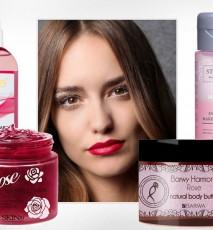 Różane kosmetyki - kosmetyki z różą