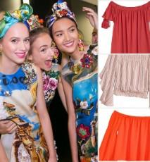 Modne ubrania w hiszpańskim stylu