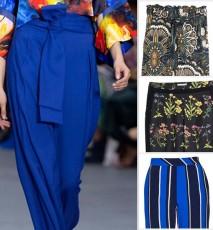 Szerokie spodnie na lato 2016