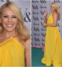 Kylie Minogue na  Victoria and Albert Museum Summer Party