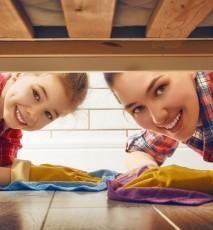 jak posprzątać żeby się nie napracować, jak sprzątać żeby się nie zmęczyć