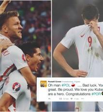 Robert Lewandowski o Kubie Błaszczykowskim po meczu Euro Polska Portugalia