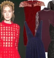 Koronkowe sukienki na walentynki 2015
