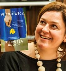 Książka Pierwsza na liście - wywiad z autorką, Magdaleną Witkiewicz