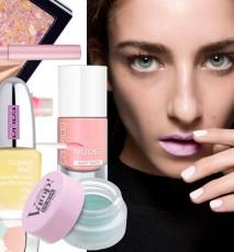 Pastelowe kosmetyki na wiosnę 2015