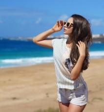 wybór koszulek na lato