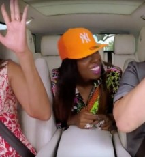 "Michelle Obama śpiewa ""Single Ladies: Bayonce, Obama Carpool Karaoke"