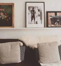 pomysły na aranżację zdjęć, jak ładnie wyeksponować zdjęcia na ścianie