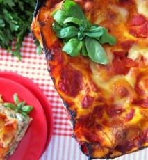 lasagne ze szpinakiem przepis video, lazania ze szpinakiem przepis, jak zrobić lasagne ze szpinakiem