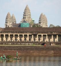 Angkor Vat w Kambodży