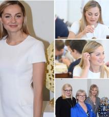 Małgorzata Socha na spotkaniu z prezydentem