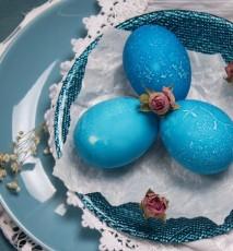Obrus na Wielkanoc