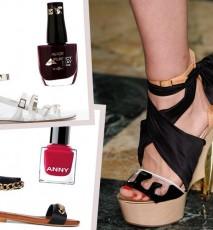 Jak dobrać lakier do sandałków