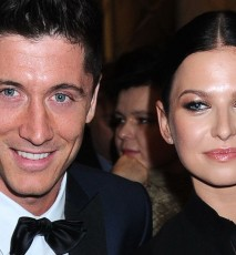 Anna i Robert Lewandowscy na gali Superbrands
