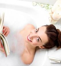 Wodoodporna książka czyli można już czytać w wannie