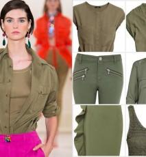 Modne kolory lata - khaki