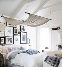 marynarski styl w domu, wnętrze w marynarskim stylu