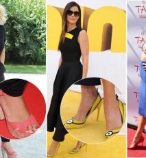 gwiazdy, ktore mają wielkie stopy, aktorki, które mają wielkie stopy, sławne kobiety z wielkimi stopami, duże stopy gwiazd