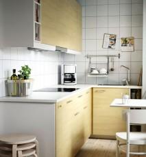 pomysły na małą kuchnię według ikea, mała kuchnia według ikei, jak urządzić małą kuchnię