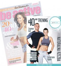Trening DVD Gym Break Naturalna Rzeźba w 3 tygodnie - dodatek magazyn Be Active