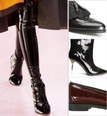 Lakierowane buty